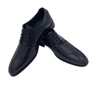 Zapato  Emirey, Florentic- Charol Azul Marino.