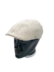 Gorra de Lino Tipo Gatsby, de la marca BEIRETS, color Beige