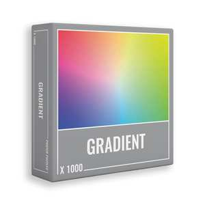 GRADIENT puzzle 1000 piezas -Cloudberries-