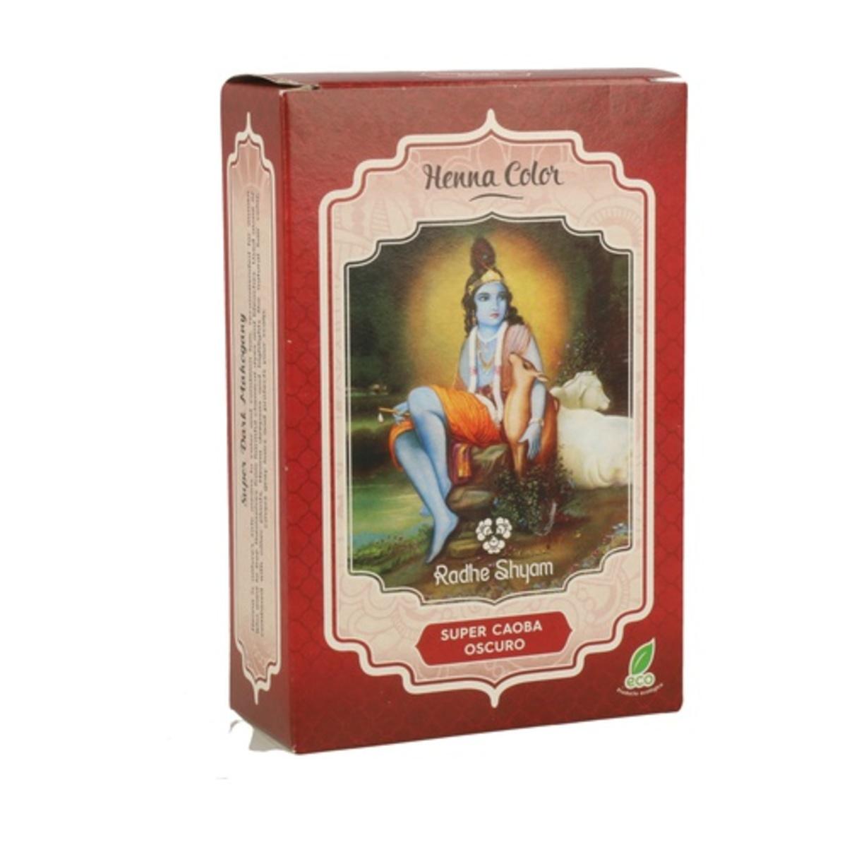 Henna Supercaoba Polvo 100g. Radhe Shyam