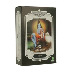 Henna Negro Polvo 100gr. Radhe Shyam