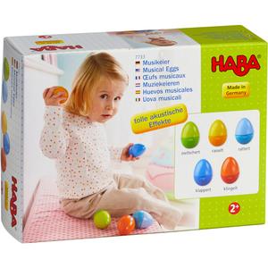 Huevos musicales -007733 HABA-