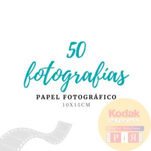 Impresión 50 Fotografías -  Papel Fotográfico