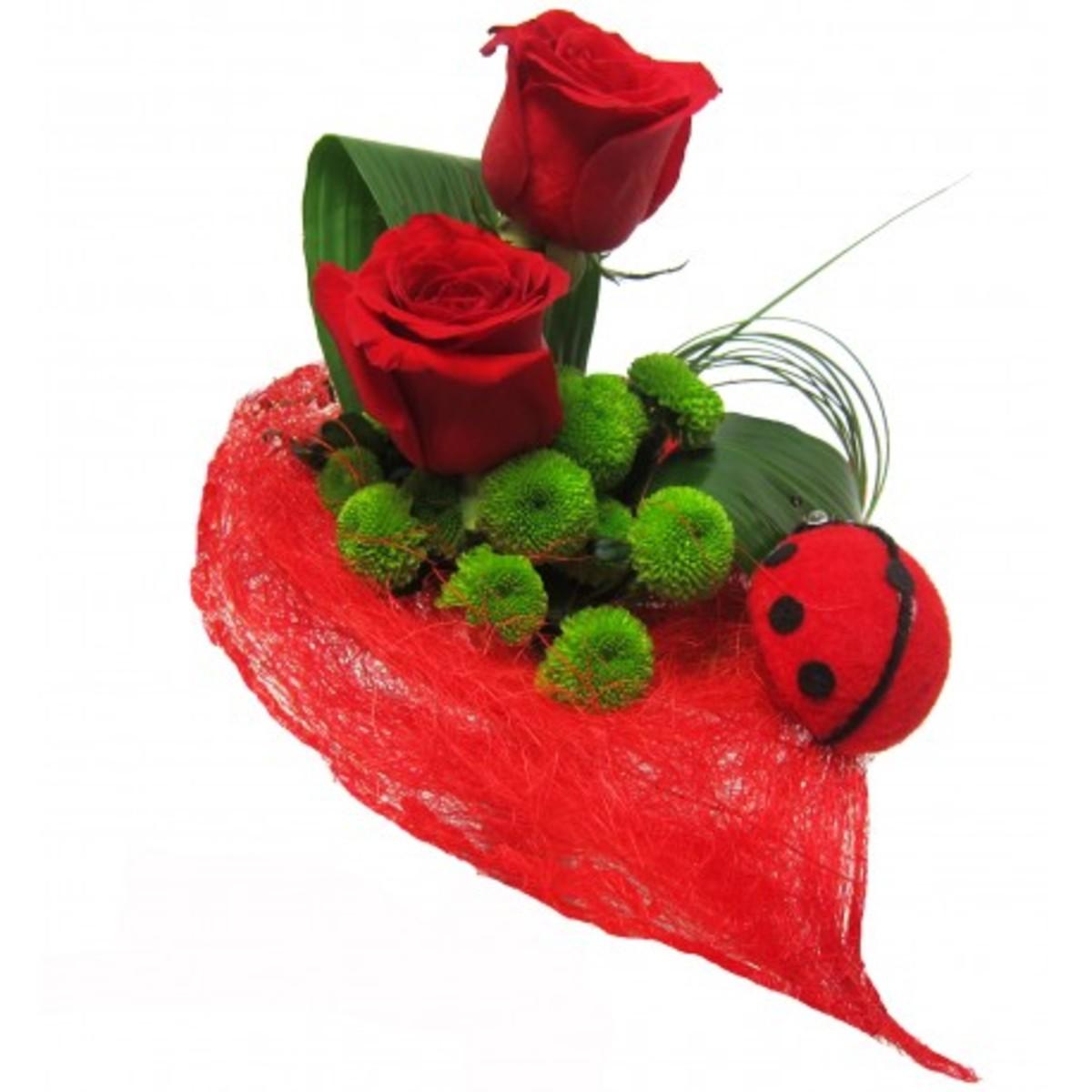 Latidos Ramo rosas rojas