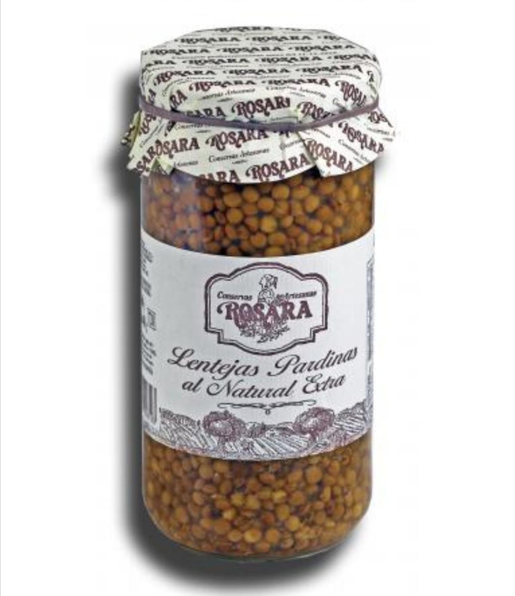 Lentejas Pardinas en conserva - Rosara - 1 kg