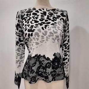 Sueter Leopard Black