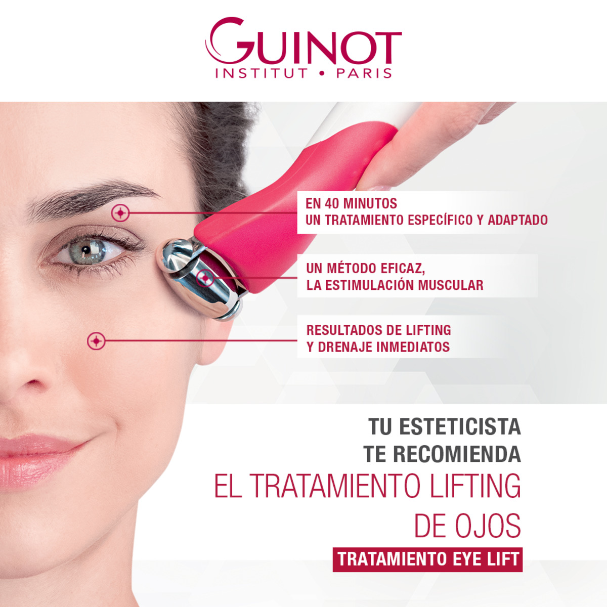 Tratamiento Lifting de Ojos Guinot - 1 Sesión