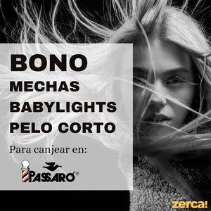 Bono mechas babylights para pelo corto PARA CANJEAR EN PASSARÓ PLAZA SAN BRIZ