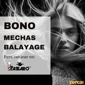 Bono mechas balayage PARA CANJEAR EN PASSARÓ PLAZA SAN BRIZ