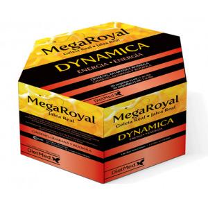Megaroyal Dynamica 20 ampollas.  Dietmed