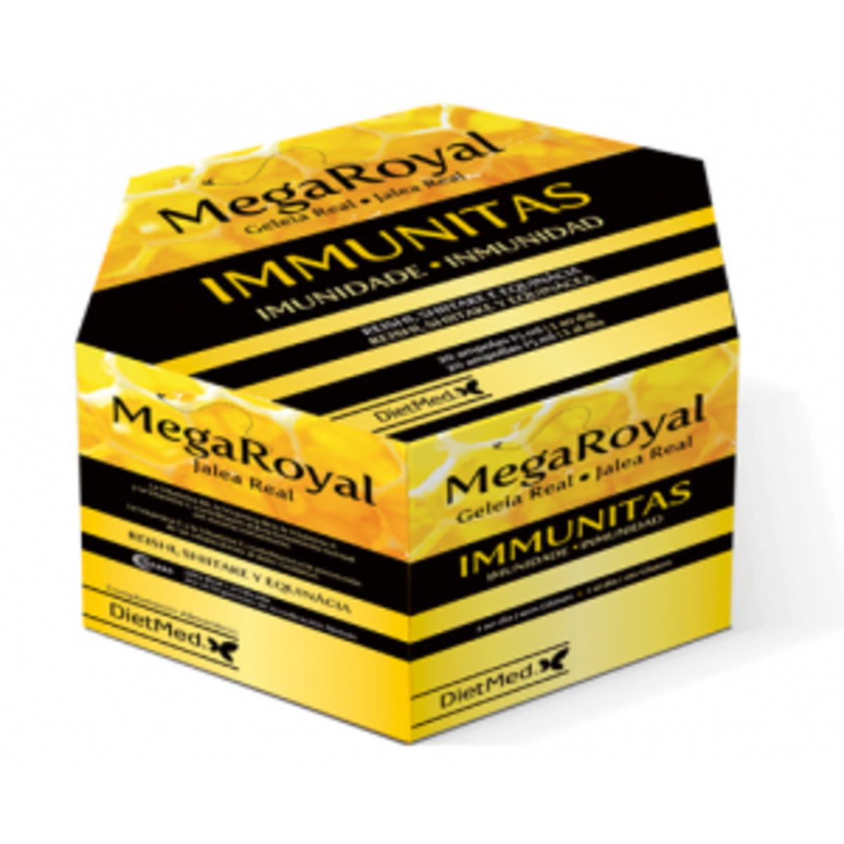 Megaroyal Immunitas 20 ampllas. Dietmed