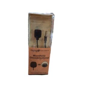 Micrófono Omnidireccional solapa Jack 3,5mm