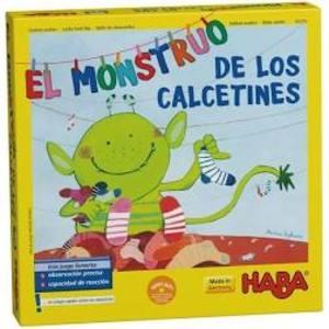 Juego de mesa Haba EL MONSTRUO DE LOS CALCETINES