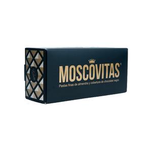 Pastas finas almendras y chocolate Moscovitas Dark (RIALTO). Caja: 160 gramos.