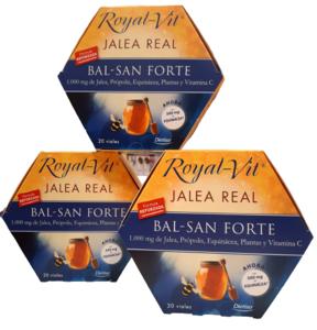 Pack (3 uds.) ROYAL VIT Jalea Real Bal San Forte Dietisa 20 viales