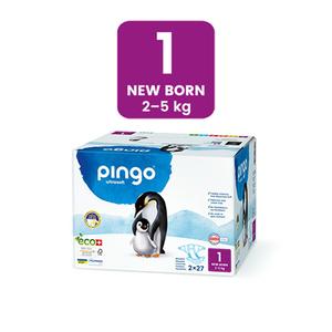 Pañales Ecológicos Pingo - Talla 1