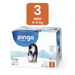 Pañales Ecológicos Pingo - Talla 3