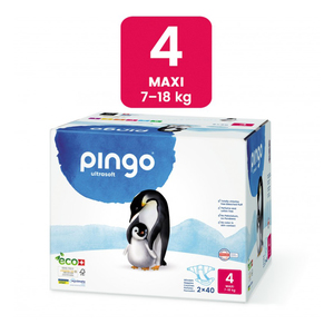 Pañales Ecológicos Pingo - Talla 4