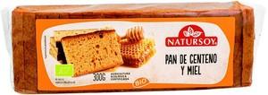 Pan de centeno y miel 300gr  Natursoy