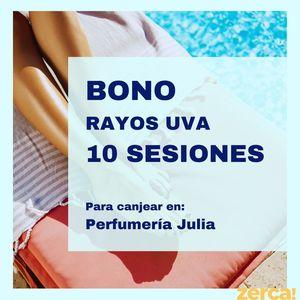BONO RAYOS UVA 10 SESIONES