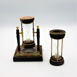 Reloj de Arena con Brújula - Modelo giratorio