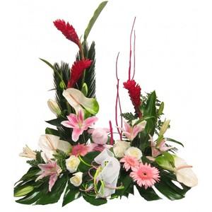 Romeo y Julieta Centro de flores