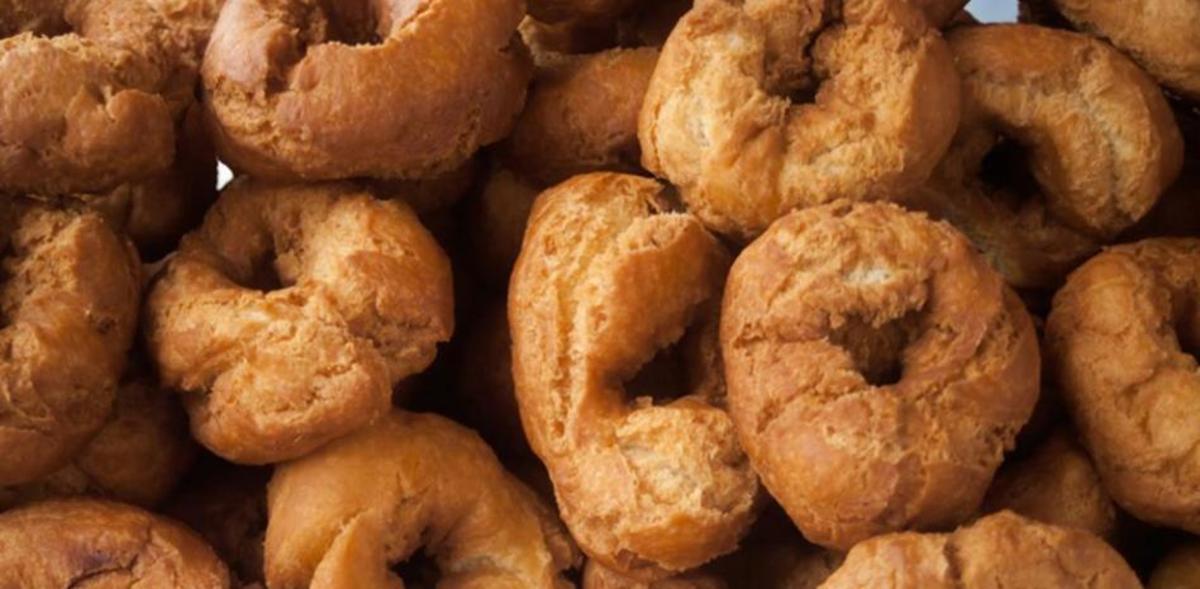 Rosquillas artesanas de anís - 500 gramos.