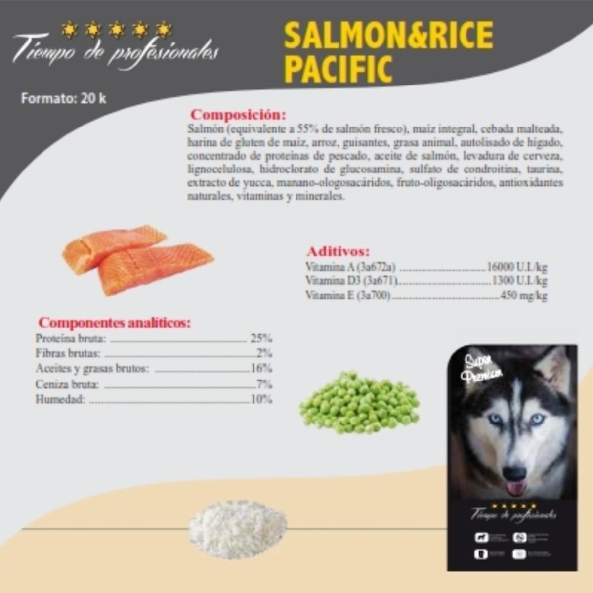 Salmon & Rice Pacific 15kg