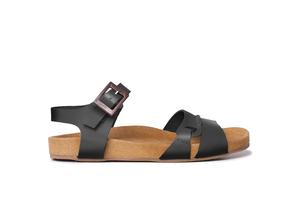 Sandalias cómodas ENTIBO NEGRO