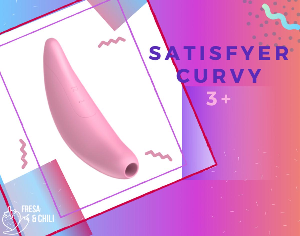 Succionador de Clítoris - Satisfyer Curvy 3+ Rosa Con App