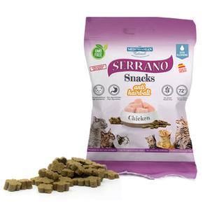 Snacks de Pollo SERRANO comida para Gatos
