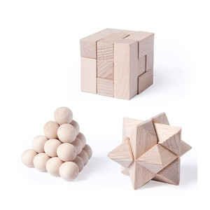Set juegos madera