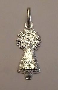 Virgen del Pilar de plata