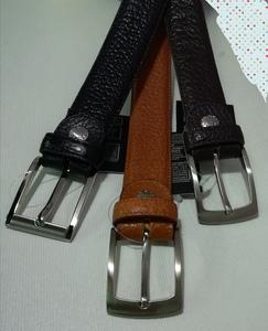 Cinturón de piel talla especial 1,50 m.de cintura. Color marrón