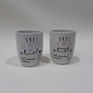 Pack de 2 tazas Abuelo y Abuela