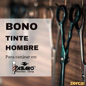 Bono tinte hombre PARA CANJEAR EN PASSARÓ PLAZA SAN BRIZ