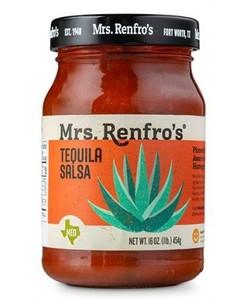 Mrs Renfro's tequila salsa 454gr