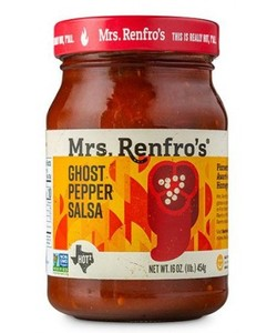 Mrs. Renfro's Ghost pepper salsa 454gr