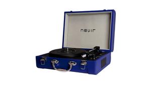 Tocadiscos portatil bluetooth NVR-804VBUE