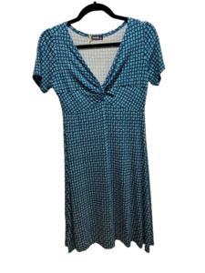 Vestido Azul Estampado de Xantik