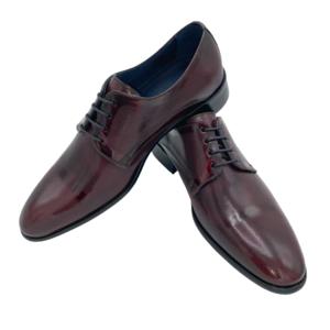 Zapato Florentic Burdeos placado
