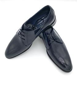 Zapato Charol Azul Marino.